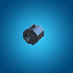 Plastic end cap for roller shutter