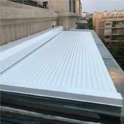 Horizontal Aluminium rolling shutter for outdoor roof